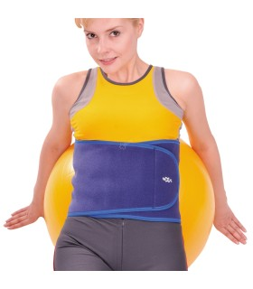 Breezy 121 - Wheelchair rigid seat and backrest with retractable steps