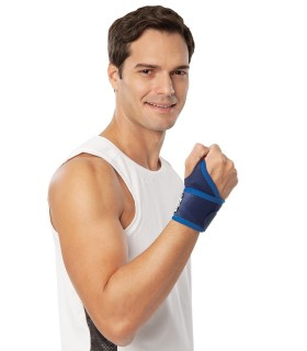 Four supporting adjustable cane