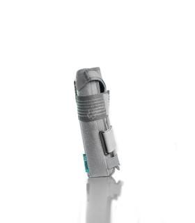 Apparatus for measuring blood pressure with Bluethooth and integrated travel alarm clock Medisana BU 575 connect