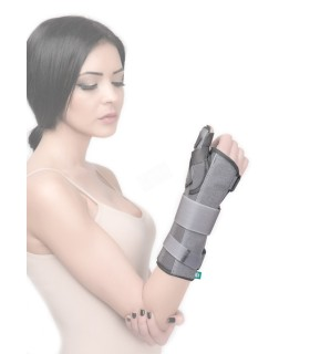 A device for measuring the level of oxygen in the blood and heartbeat Pulse oximeter Medisana PM 150 connect