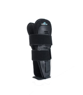 Bleached knitted bandages