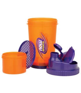 Men's slippers from leather model 1